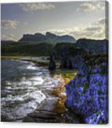 Cape Hedo Hdr Canvas Print
