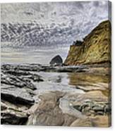 Cape Kiwanda And Haystack Rock Canvas Print