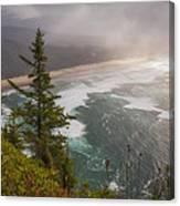 Cape Lookout Vista Canvas Print