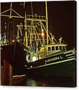 Cape May Fishing Fleet Canvas Print