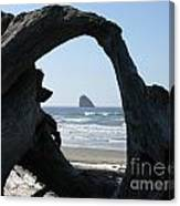Cape Meares Framed Canvas Print