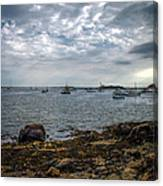 Cape Porpoise Maine - In The Evening Canvas Print