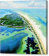 Cape San Blas Florida Canvas Print