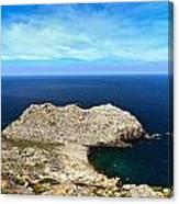 Cape Sandalo - Carloforte Canvas Print
