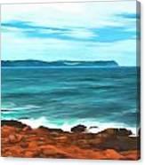 Cape Spear Shoreline Canvas Print