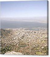 Cape Town Panoramic Canvas Print