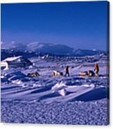 Capeevanshut-antarctica-g.punt-6 Canvas Print