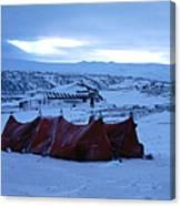 Capeevanshut-antarctica-g.punt-9 Canvas Print