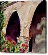 Capistrano Arches Canvas Print