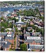 Capital Of Maryland In Annapolis Canvas Print