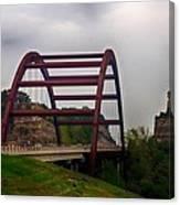 Capital Of Texas Bridge Canvas Print