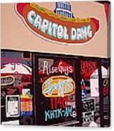 Capitol Dawg Canvas Print
