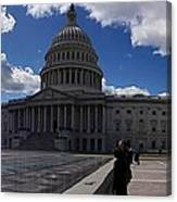 Capitol Early Spring Canvas Print