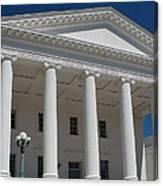 Capitol Pillars - Richmond Canvas Print