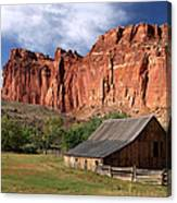 Capitol Reef Homestead Canvas Print