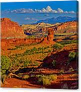 Capitol Reef Landscape Canvas Print