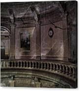 Capitol Silence Lansing Michigan Canvas Print