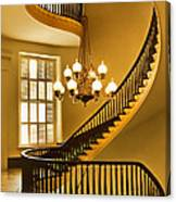 2 - Capitol Staircase - Montgomery Alabama Canvas Print