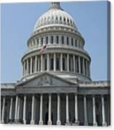 Capitol Washington Dc Canvas Print