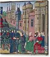 Capitulation Of Bordeaux Canvas Print