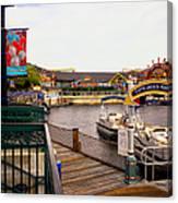 Cap'n Jacks Marina Harbor Walt Disney World Canvas Print