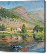 Capodifiume Canvas Print