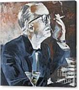 Capote By Hoffman Canvas Print