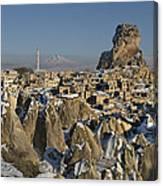 Cappadocia In Winter Canvas Print