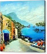 Capri Fantasies Canvas Print