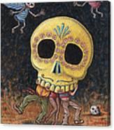 Caprichos Calaveras #2 Canvas Print