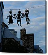 Capricious Quebec City Canada Canvas Print
