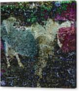 Capricorn Abstract Canvas Print