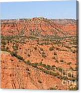 Caprock Canyon 1 Canvas Print