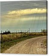 Caprock Canyon-country Road Canvas Print