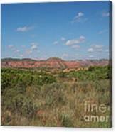 Caprock Canyon Of Texas Canvas Print