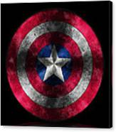 Captain America Shield Canvas Print