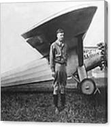 Captain Charles Lindbergh Canvas Print
