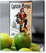 Captain Morgan Canvas Print