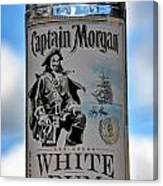 Captain Morgan White Rum Canvas Print