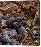 Captain Reginald James Young Winning Canvas Print