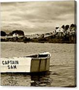 Captain Sam Canvas Print