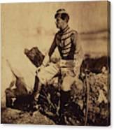 Captain Thomas, Aide-de-camp To General Bosquet Canvas Print