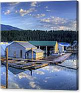 Bayview Marina 2 Canvas Print