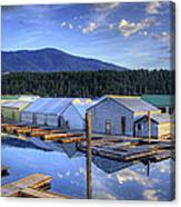 Bayview Marina 3 Canvas Print