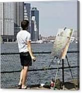 Capture Of A Capture Canvas Print