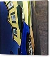 Car Reflection 6 Canvas Print