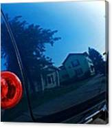 Car Reflection 8 Canvas Print