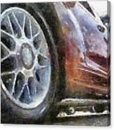 Car Rims 01 Photo Art 02 Canvas Print