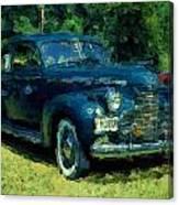 Car Show Antique Canvas Print