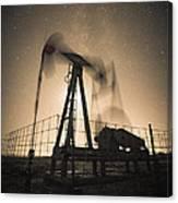 Carbon Footprint #3 Canvas Print